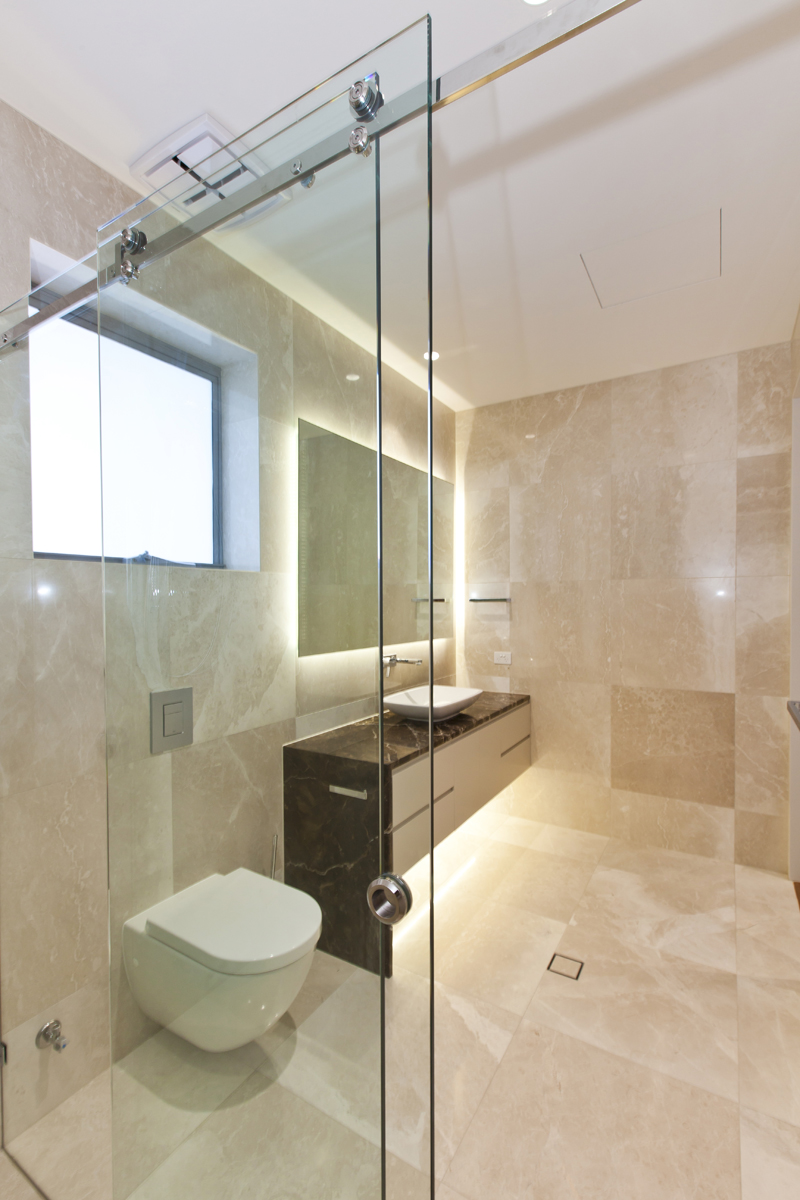 Glass mirrors and shower screens