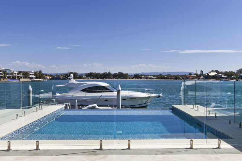 Gold Coast Fencing Pool Waterart Innovations In Glass